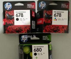 HP 680 Black/Colour Cartridge