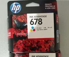 HP 678 Black/Colour Cartridge