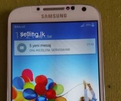 Samsung S4 Display With Frame Full Set