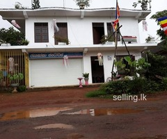 A house for sale in Kahathuduwa near Hydramani garments