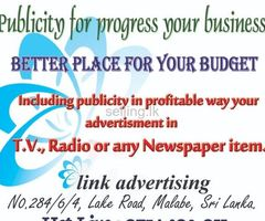 TV, Radio & Newspaper Advertising