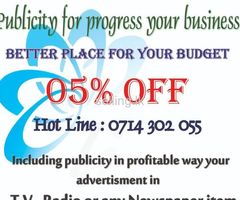 TV, Radio & Newspaper Advertising