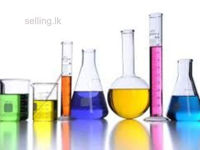 Chemistry English medium