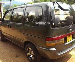 Nissan serena 2000 van for sale