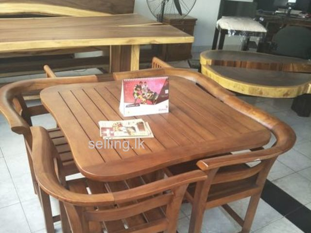 Teak imported four Seater Dinning table Rs. 68000 only
