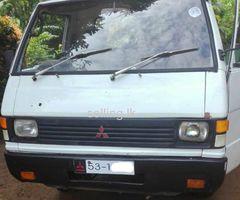 Mitsubishi Delica 1979 Lorry