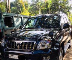 Toyota land cruiser Prado TRJ 120 Tx