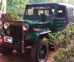 Mitsubishe j44 jeep