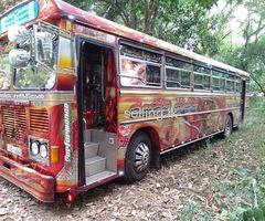 Bus with permit - Kaduruwela Anuradapura Bus Route
