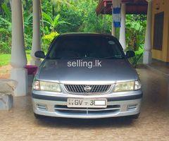 Nissan Sunny FB 15 Ex saloon 1999/2002