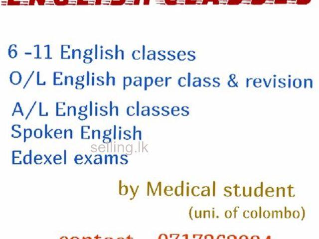 Home visit individual / group classes (local / Edexel)