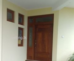 House for rent at Heerassagala