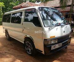 Nissan caravan 2003