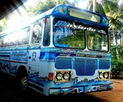 Ashok Leyland, Viking Bus for Sale with Full Sticker & Nickel Work