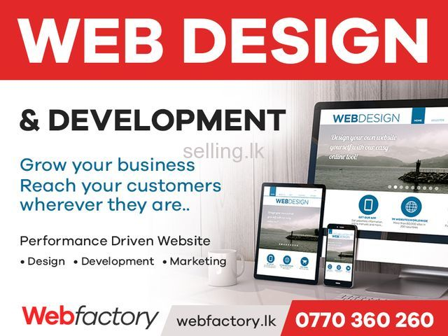 Web Design Sri Lanka colombo Web Factory