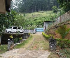 Land with a House for Sale - Diyatalawa