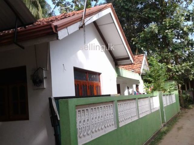 House for sale in Madampe Silva Town