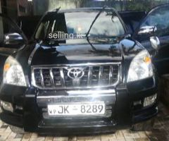 Toyota Prado jeep for sale