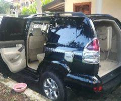 Toyota Prado jeep for sale