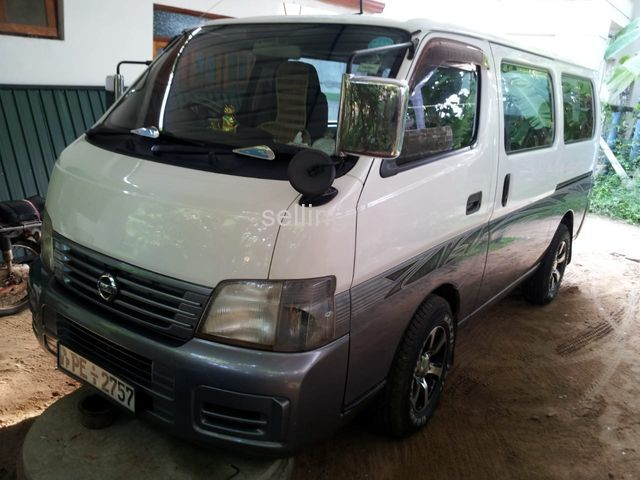 E25 Nissan caraven luxury van for sale