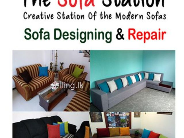 Sofa Designing & Repair