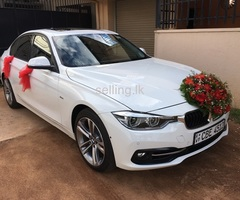 Wedding Car For Hire - BMW 318i-2019