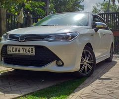Toyota axio hybrid 2017