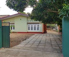 Land with house in matara town