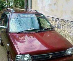 Maruti 800 Sports Model 2011