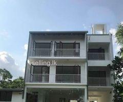 Brand New 3 Story House facing Lake  for Sale at Rajagiriya