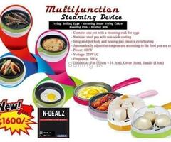 Multifunctional Steaming Device (Frying Pan + Steaming)