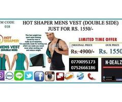HOT SHAPER MENS VEST (DOUBLE SIDE)