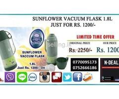 Sunflower Vacuum Flask