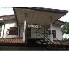 up-stair house at homagama for rent
