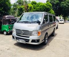 nissan caravan E25