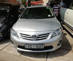Toyota corolla 141 brand new 2011