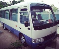 Bus for hire in colombo