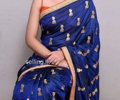 Sana Silk embroidered design Saree