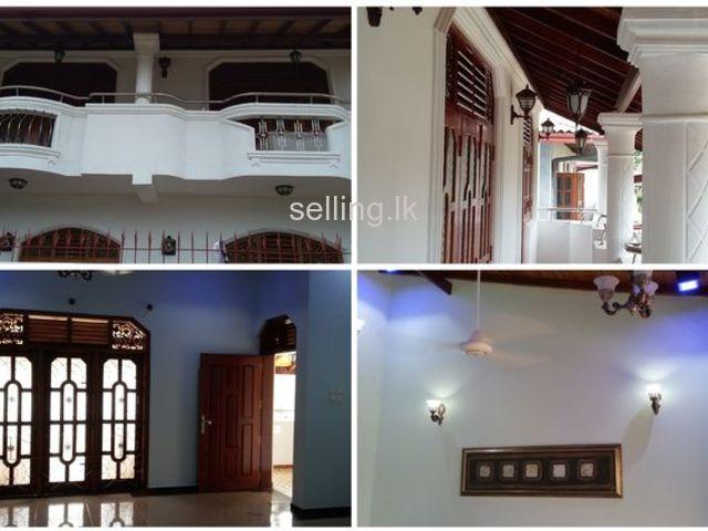A luxury & Spacious New 1st Floor House for Rent @ Ratmalana