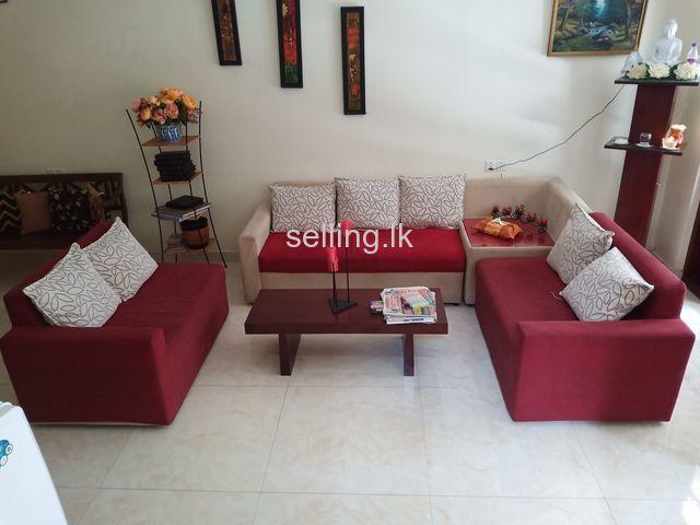 7 seated sofa set