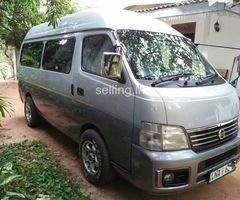 Nissan Box Highroof Caravan