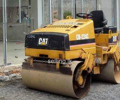 CAT 4.5 ton vibrations roller