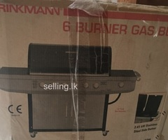 6 Burner Gas BBQ machine for sale