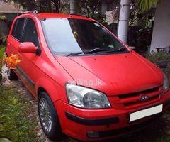 Hyundai Getz Sports car for sale