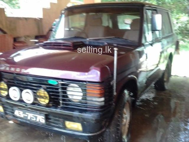 Range Rover 1968 for sale