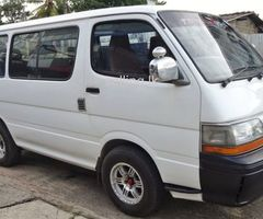 Toyota Hiace Dolphin LH102 1991