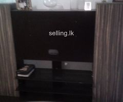 Tv stand and cabinet for cds from Holland
