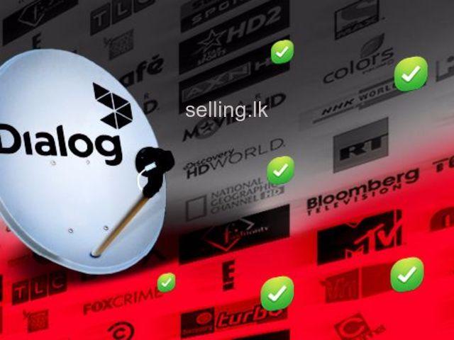 Dialog TV installation postpaid prepaid