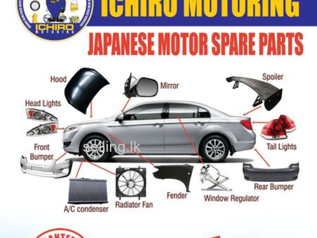 JAPANESE & EUROPE SPARE PARTS AVAILABLE
