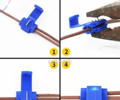Quick Splice Lock Wire Terminals Crimp  අමතර රැහැන් එකතු කිරීමට සරල සහ පහසු ක්රමයක්